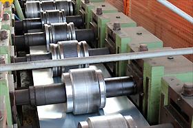 cilindri profilatrice nastri acciaio